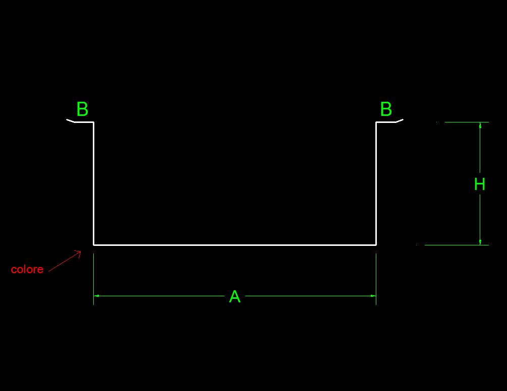 Copritubi per esterno in lamiera su misura lattoneria online for Canaline copritubi